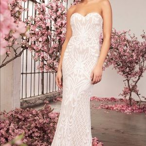 Lulus Wedding/Evening Dress